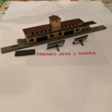 Trenes Escala: KIBRI. N. ESTACION MONTADA. Lote 198060090