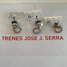 Trenes Escala: TRES SEMAFOROS BAJOS. N.. Lote 198526778