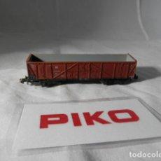 Trenes Escala: VAGÓN BORDE ALTO ESCALA N DE PIKO . Lote 198530463