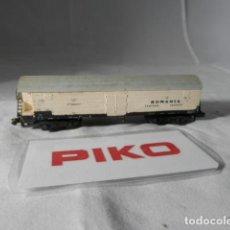 Trenes Escala: VAGÓN CERRADO ESCALA N DE PIKO . Lote 198530506