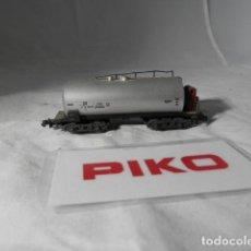 Trenes Escala: VAGÓN CISTERNA ESCALA N DE PIKO . Lote 198530620