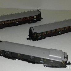 Trenes Escala: MINITRIX N CONJ PASAJEROS Y EQUIPAJES PTAS CORRED L45-37 (CON COMPRA DE 5 LOTES O MAS ENVÍO GRATIS). Lote 199047880