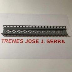 Trains Échelle: PERMA. N. TRAMO ELEVADO RECTO 24 CM NUEVO. Lote 200588981