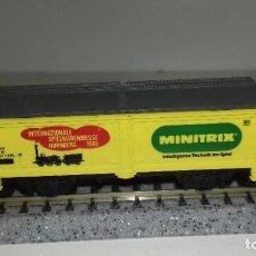 Trenes Escala: MINITRIX N CERRADO L45-77 (CON COMPRA DE 5 LOTES O MAS ENVÍO GRATIS). Lote 200734832