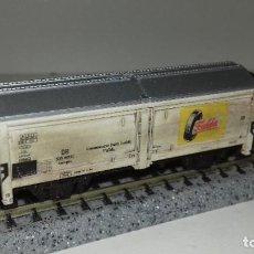 Trenes Escala: MINITRIX N CERRADO ENVEJECIDO L45-79 (CON COMPRA DE 5 LOTES O MAS ENVÍO GRATIS). Lote 200735062