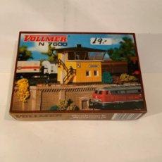Trenes Escala: VOLLMER. N. REF. 7600. PUESTO DE MANDO. Lote 200776425