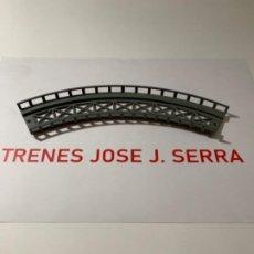 Treni in Scala: PERMA. N. TRAMO ELEVADO CURVO 20 CM NUEVO. Lote 203101287