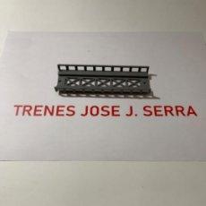 Treni in Scala: PERMA. N. TRAMO ELEVADO RECTO 12 CM NUEVO. Lote 203101323
