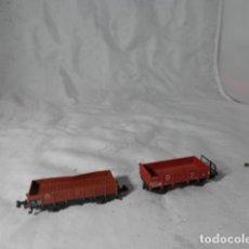 Trenes Escala: LOTE VAGONES ESCALA N DE MINITRIX. Lote 206961685