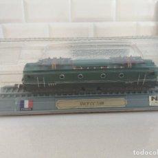 Trenes Escala: LOCOMOTORA SNCF CC 7100 ESCALA N 1/160 EDICIONES DEL PRADO A ESTRENAR. Lote 207060423
