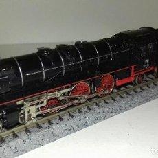 Trenes Escala: MINITRIX N LOCOMOTORA DE VAPOR BR 01 --- L45-273 (CON COMPRA DE 5 LOTES O MAS, ENVÍO GRATIS). Lote 210122855