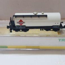 Trenes Escala: VAGON DE TREN GASOLIN TRIX REF.15173-02 EN BLISTER SIN USO ESCALA N. Lote 210327708