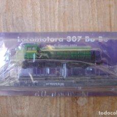 Trenes Escala: LOCOMOTORA ESTÁTICA RENFE ESPAÑA 1959. 307 BO-BO. METÁLICA. NUEVA, PRECINTADA.. Lote 212689727