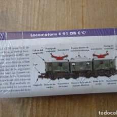 Trenes Escala: LOCOMOTORA ESTÁTICA ALEMANIA 1925 E 91 DB C'C'. METÁLICA. NUEVA, PRECINTADA.. Lote 212690743