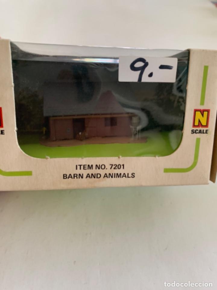 BACHMANN. N. REF 7201. GRANJA CON ANIMALES (Juguetes - Trenes Escala N - Otros Trenes Escala N)