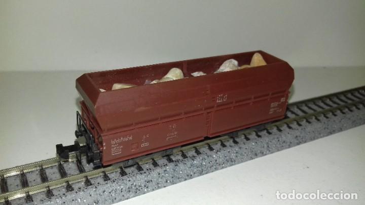 MINITRIX N TOLVA 4 EJES CARGA PIEDRAS --- L46-058 (CON COMPRA DE 5 LOTES O MAS, ENVÍO GRATIS) (Juguetes - Trenes Escala N - Otros Trenes Escala N)