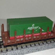 Trenes Escala: MINITRIX N TELERO CONTAINER --- L46-059 (CON COMPRA DE 5 LOTES O MAS, ENVÍO GRATIS). Lote 213643692