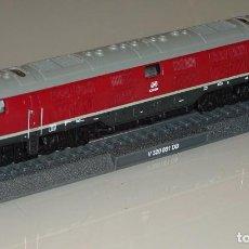 Trenes Escala: MAQUETA MODELO FERROVIARIO. LOCOMOTORA TREN. DEUTSCHE BAHN V320 001 DB. ESCALA N. 110 GR. Lote 213783461