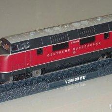Trenes Escala: MAQUETA MODELO FERROVIARIO. LOCOMOTORA TREN. DEUTSCHE BUNDESBAHN V200 DB BB. ESCALA N. 110 GR. Lote 213783645