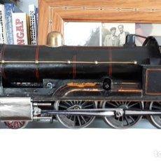 Trenes Escala: LOCOMOTORA DE VAPOR. Lote 213879037