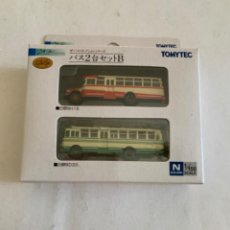 Trenes Escala: TOMYTEC. N. SET DOS AUTOBUSES. Lote 214014741