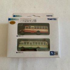 Trenes Escala: TOMYTEC. N. SET DOS AUTOBUSES. Lote 214014992