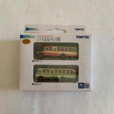 Trenes Escala: TOMYTEC. N. SET DOS AUTOBUSES. Lote 214015043