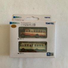 Trenes Escala: TOMYTEC. N. SET DOS AUTOBUSES. Lote 214015101