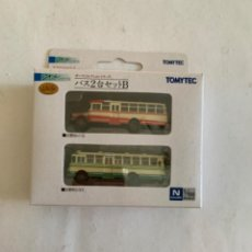 Trenes Escala: TOMYTEC. N. SET DOS AUTOBUSES. Lote 214015127