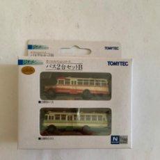 Trenes Escala: TOMYTEC. N. SET DOS AUTOBUSES. Lote 214015172