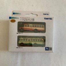 Trenes Escala: TOMYTEC. N. SET DOS AUTOBUSES. Lote 214015212