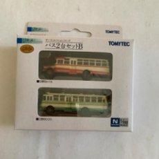 Trenes Escala: TOMYTEC. N. SET DOS AUTOBUSES. Lote 214015282