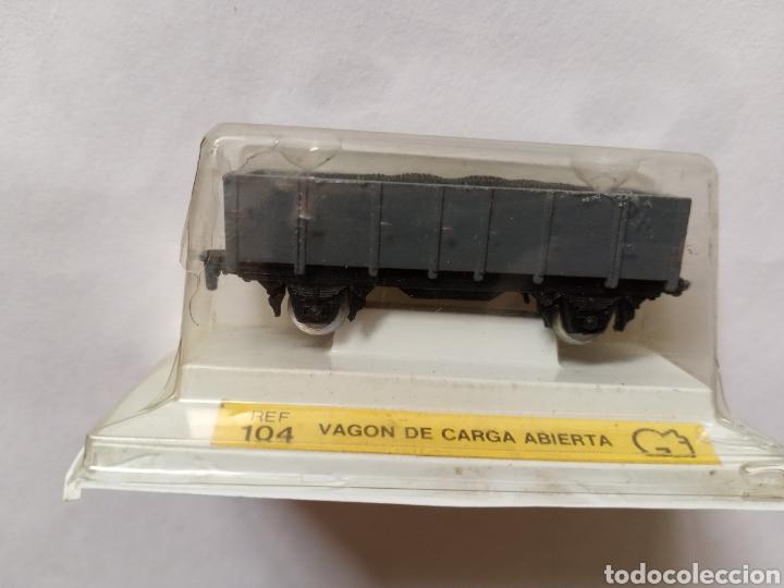 Trenes Escala: VAGON DE CARGA ABIERTA REF 104 (años 70) - Foto 2 - 214864955