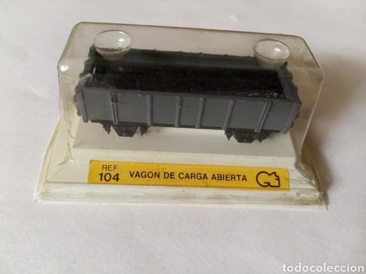 VAGON DE CARGA ABIERTA REF 104 (AÑOS 70) (Juguetes - Trenes Escala N - Otros Trenes Escala N)