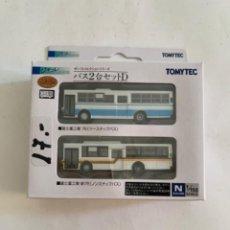 Treni in Scala: TOMYTEC. N. SET DOS AUTOBUSES. Lote 215179622
