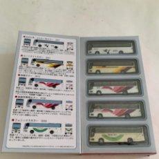Trenes Escala: TOMYTEC. N. SET CINCO AUTOBUSES. Lote 215180107