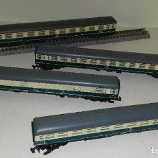 Trenes Escala: MINITRIX N PASAJEROS 1ª, 2ª, 2ª Y EQUIPAJES -- L46-176 (CON COMPRA DE 5 LOTES O MAS, ENVÍO GRATIS). Lote 215471967