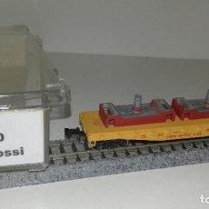 Trenes Escala: ATLAS RIVAROSSI N PLATAFORMA CON CARGA -- L46-191 (CON COMPRA DE 5 LOTES O MAS, ENVÍO GRATIS). Lote 215569725