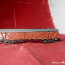 Comboios Escala: VAGÓN CERRADO ESCALA N DE MINITRIX. Lote 215825568