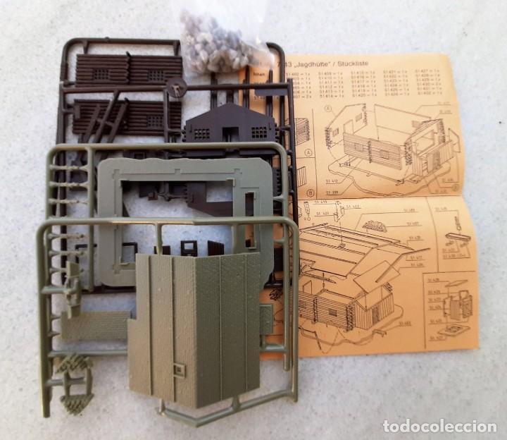 Trenes Escala: Cabaña de cazadores o refugio KIT. Escala N - Foto 3 - 217633962