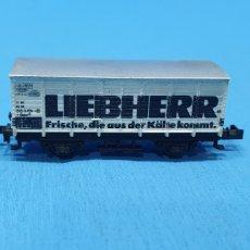 Trenes Escala: VAGÓN TRIX WESTERN GERMANY - LIEBHERR. Lote 219256928