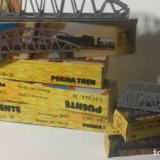 Trenes Escala: LOTE 4 PUENTES PERMA TREN N 842 (TIPO ARCADA) Y 2 841 (TIPO METALICO).. Lote 219655828