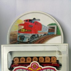 Trenes Escala: BACHMANN ESCALA N NORFOLK & WESTERN FLAT CAR WITH COIL LOAD. Lote 219707781