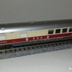 Trenes Escala: MINITRIX N PASAJEROS RESTAURANTE CON LUZ -- L46-271 (CON COMPRA DE 5 LOTES O MAS, ENVÍO GRATIS). Lote 219876747