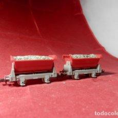 Trenes Escala: LOTE VAGONETAS ESCALA N DE ARNOLD. Lote 221663287