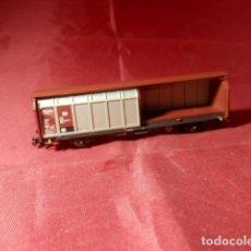 Trenes Escala: VAGÓN CERRADO ESCALA N DE MINITRIX. Lote 221663897