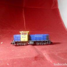 Trenes Escala: LOCOMOTORA DIESEL ESCALA N DE MEHANO. Lote 221731223