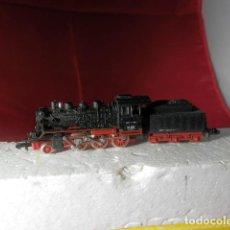 Trenes Escala: LOCOMOTORA VAPOR DE LA DB ESCALA N DE MINITRIX. Lote 221846446