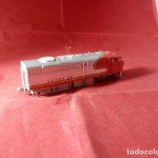 Trenes Escala: LOCOMOTORA DIESEL ESCALA N DE MEHANO. Lote 221946228