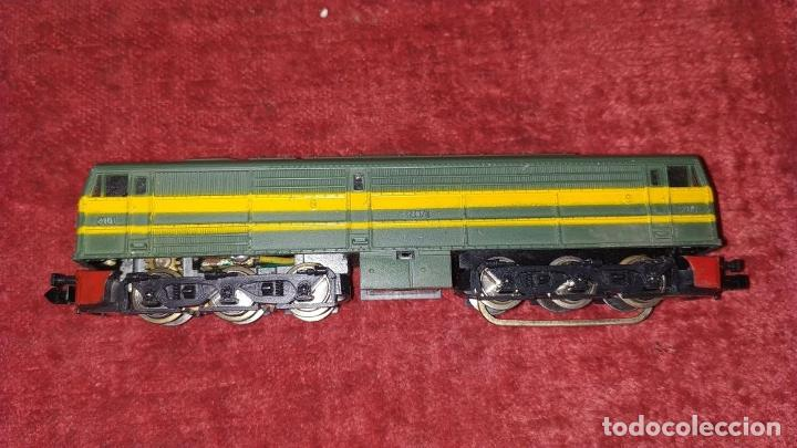 Trenes Escala: TREN ELECTRICO. IBERTREN 102. 3N. ADJUNTAMOS VAGON REF. 2.102/AZ. ESPAÑA. CIRCA 1970 - Foto 13 - 222335018